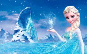 En la imagen aparece Elsa, una de las protagonistas de Frozen.